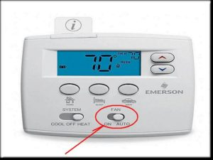 Turn Your Thermostat to On Position